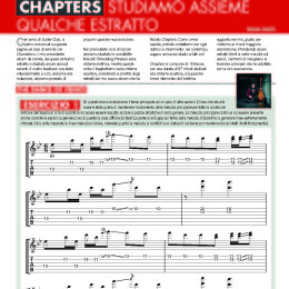 "Guitar Club Magazine, Italy – Oct 2016 – ""Chapters"" Lesson, pt 1"
