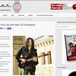 Mike Campese Fires Up with New CD Chameleon
