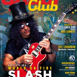 "Mike ""Melodic Shred"" Lesson in Guitar Club Magazine Italy"