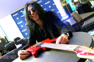 Mike Campese and Metal Shock Finland Interview NAMM 2015 pic 4 - smaller size