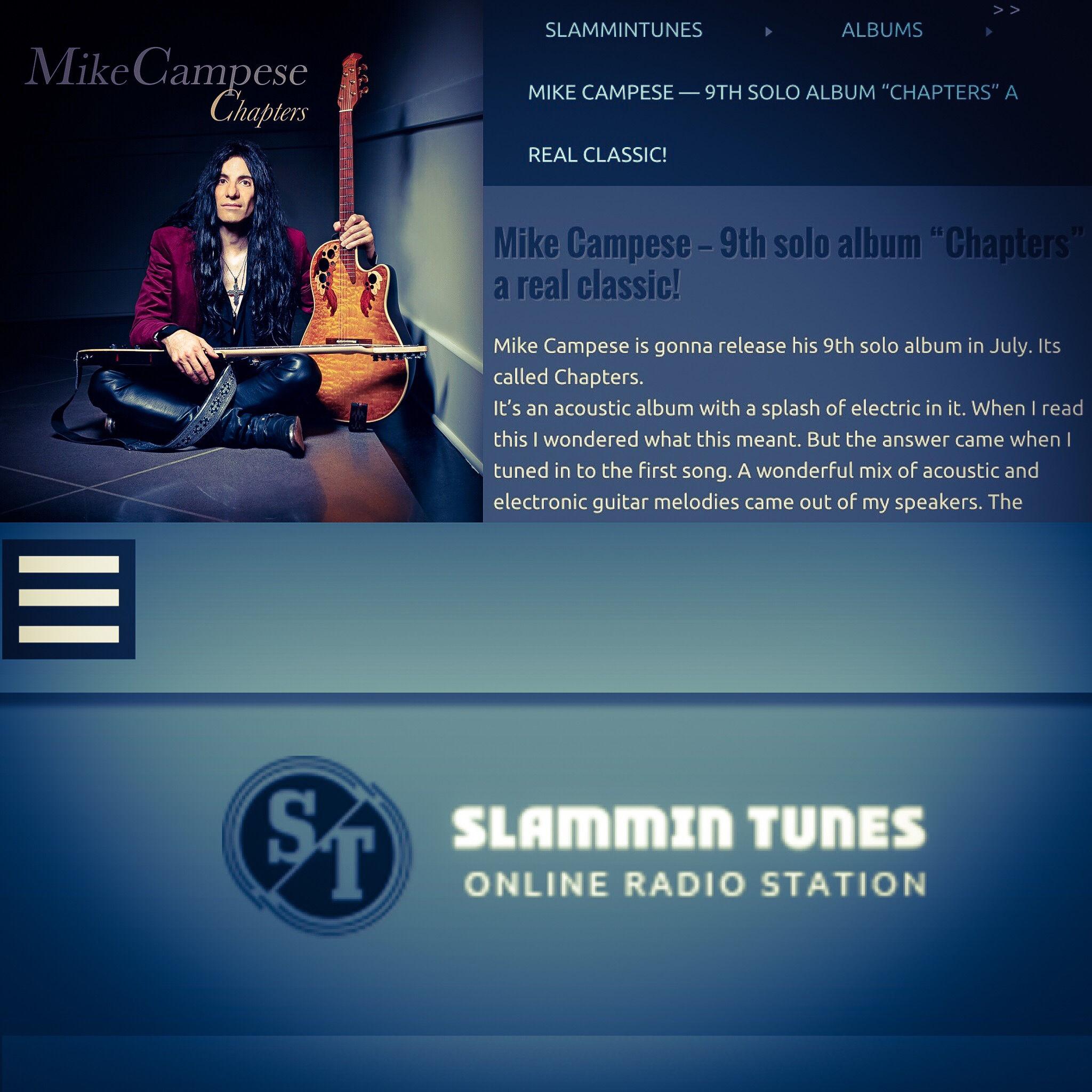 Mike Campese - Slammin Tunes Online Radio