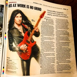Mike Campese – Times Union, Albany NY – Newspaper Feature and Interview