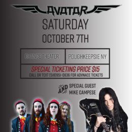 Mike Campese and Avatar – Advanced Discounted Tickets