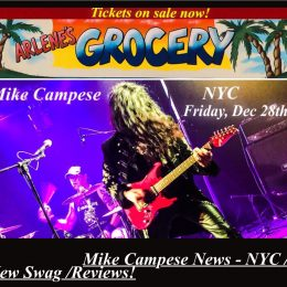 "Mike Campese News – Shows, Swag, NYC – ""The Fire Within"" Reviews!"
