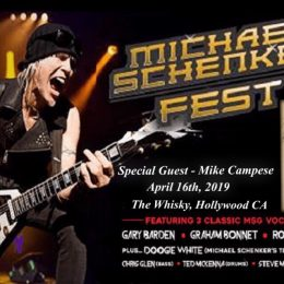 Michael Schenker Fest – The Whisky, Hollywood!