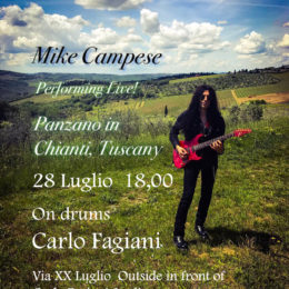 Mike Campese – Live in Tuscany!