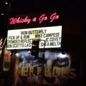 Iron Butterfly – The Whisky, Hollywood CA